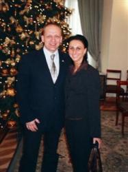 Radoslaw Pietrzkiewicz i Ewelina Pekalska